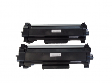2x Toner Brother MFC-L2735DW MFC-L2750DW, TN-2420 TN-2410 kompatibel mit Chip