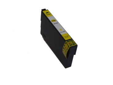 Yellow Tintenpatrone XL Epson WorkForce Pro WF-4720 DWF  WF-4725 DWF (Epson Nr.35 T3583 T3593 Schloss Serie kompatibel)