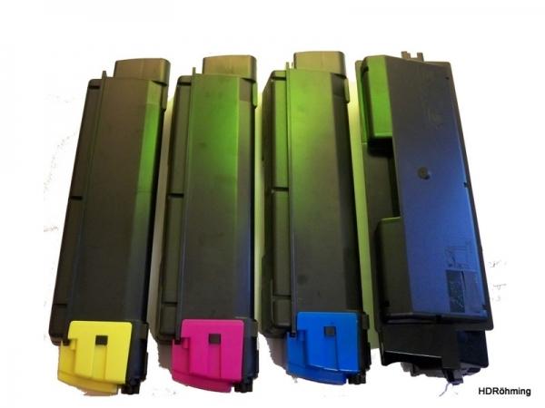 Xl Sports 4x Tonervorteilspack f.  Kyocera FS-C2026MFP+  FS-C2126MFP+ FS-C2526MFP FS-C2626MFP FS-5250DN kompatibel TK-590