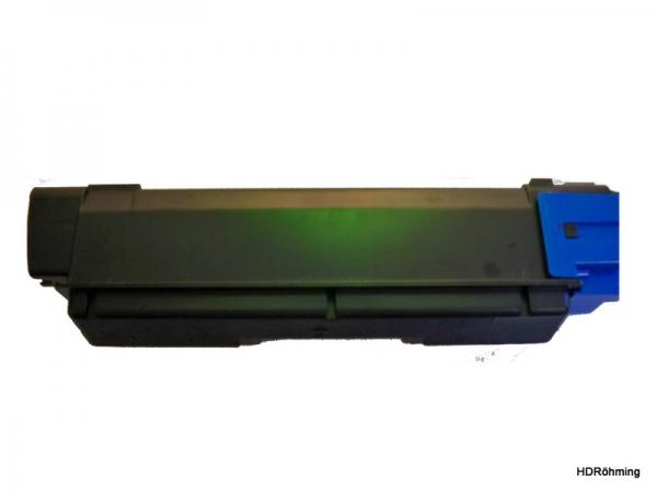 Cyan Toner f.  Kyocera FS-C2026MFP+  FS-C2126MFP+ FS-C2526MFP FS-C2626MFP FS-5250DN kompatibel TK-590C