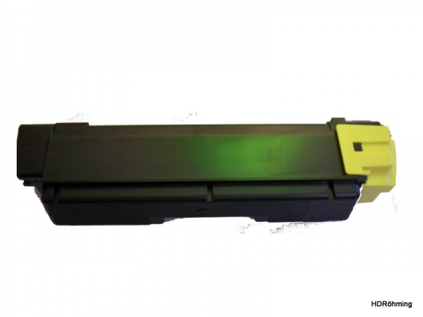 Yellow Toner f.  Kyocera FS-C2026MFP+  FS-C2126MFP+ FS-C2526MFP FS-C2626MFP FS-5250DN kompatibel TK-590Y